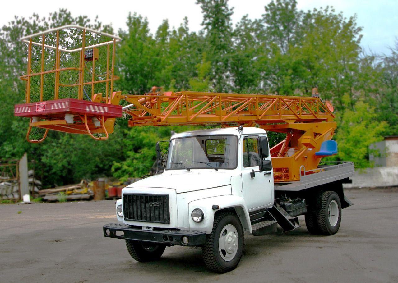 автовышка ГАЗ 18 метров