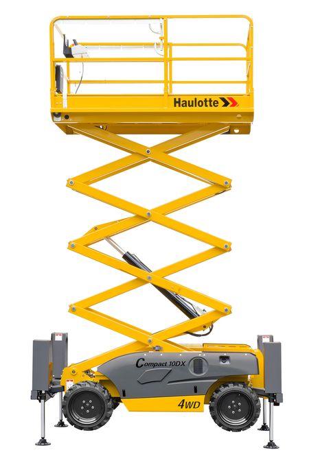 Ножничный дизельный подъемник Haulotte Compact 12 DX