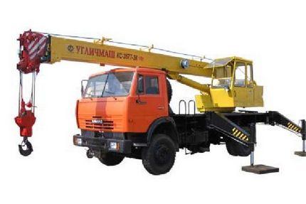 Аренда автокрана КС-3577-3 14 тонн
