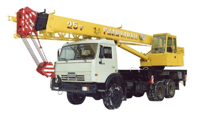 Автокран КС-55713-1 Галичанин
