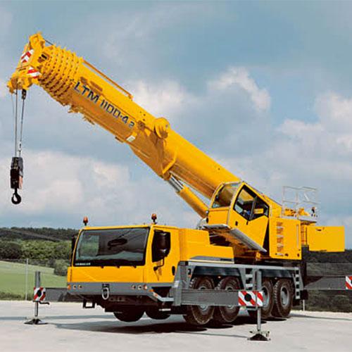 автокран 110 тонн в аренду